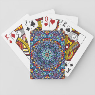 Stone Wonder Colorful Playing Cards