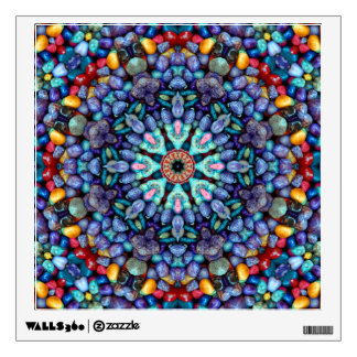 Stone Wonder Colorful Wall Decals