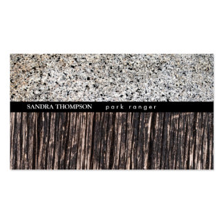 Stone & Wood Variation Business Card