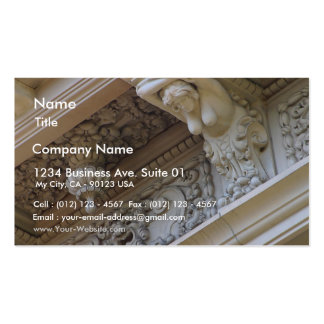Stone Work On Building Business Card