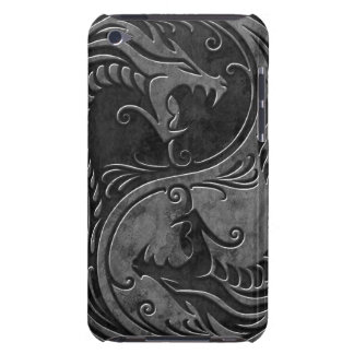 Stone Yin Yang Dragons Barely There iPod Case