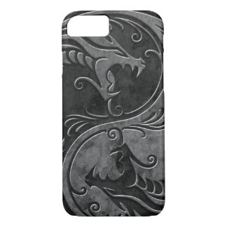 Stone Yin Yang Dragons iPhone 7 Case