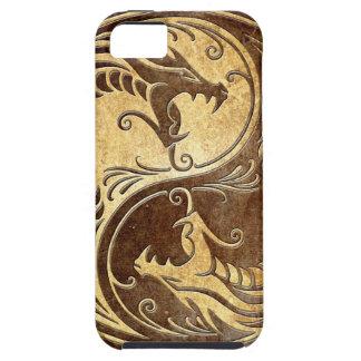 Stone Yin Yang Dragons iPhone SE/5/5s Case
