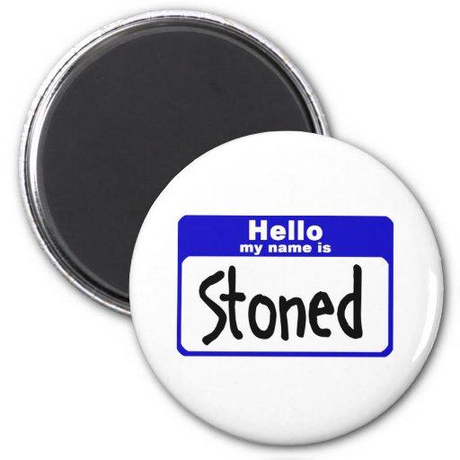 stoned3 imán redondo 5 cm