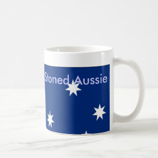 Stoned Aussie Classic White Coffee Mug