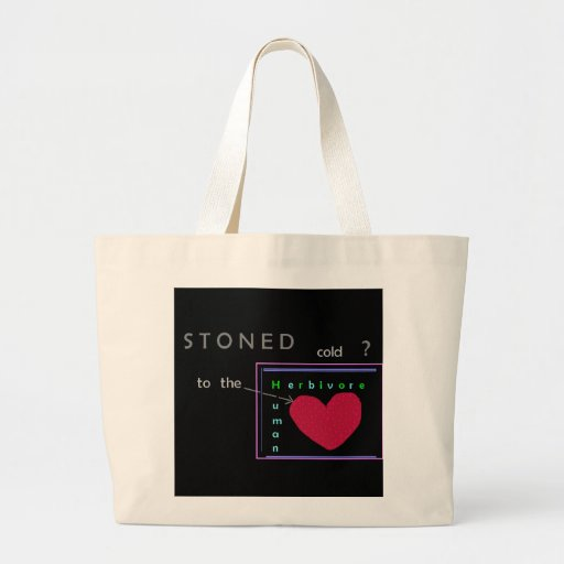 Stoned cold? Tote Canvas Bags