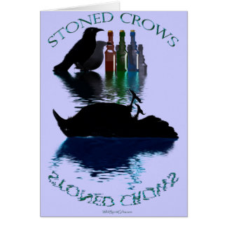 STONED CROWS Gift Range Card