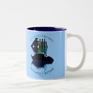 STONED CROWS Gift Range Two-Tone Coffee Mug