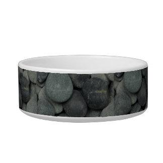 stoned dog food bowl
