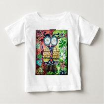 Stoned Owl Baby T-Shirt