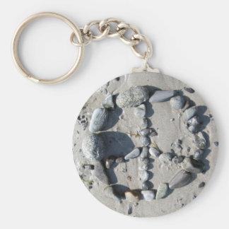 Stoned Peace Keychain