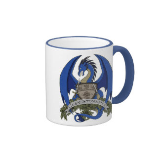 Stonefire Dragons Crest (Blue Dragon) 11oz Mug
