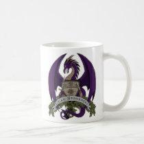 Stonefire Dragons Crest (Purple Dragon) 11oz Mug