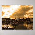Stonehaven Harbour, Scotland Posters