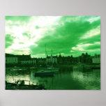 Stonehaven Harbour, Scotland Print