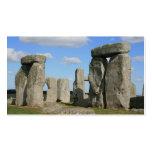 stonehenge 10 tarjetas de visita