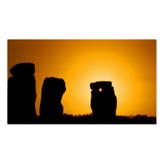 Stonehenge 11 business card templates