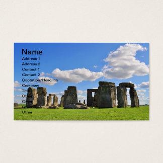 Stonehenge 12 business card
