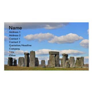 Stonehenge 15 business card templates