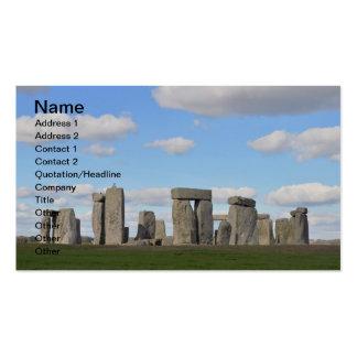 Stonehenge 16 business cards