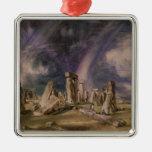 Stonehenge, 1835 christmas tree ornament