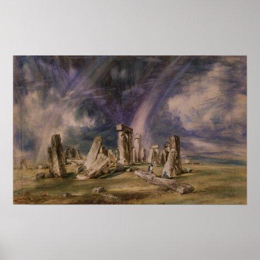 Stonehenge, 1835 posters
