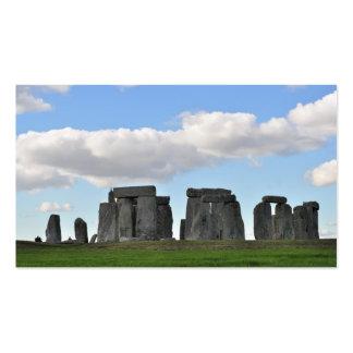stonehenge 19 business card