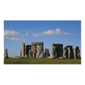 Stonehenge 1 business card templates