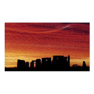 Stonehenge 2 business card