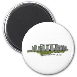 Stonehenge 2 Inch Round Magnet