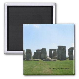 Stonehenge 2 Inch Square Magnet