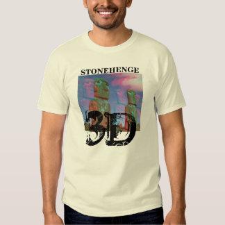 Stonehenge 3D Basic T-Shirt