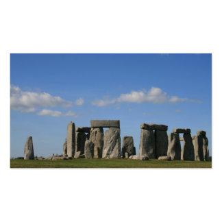 stonehenge 4 business cards
