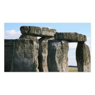 stonehenge 6 business cards