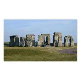 stonehenge 7 business card templates