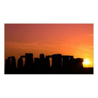 stonehenge 9 business card