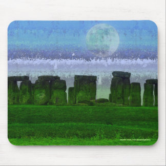 Stonehenge Ancient Historic Site of Power Artwork Mouse Pad