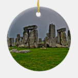 Stonehenge Ancient Historic Site of Power Christmas Tree Ornament