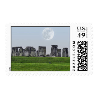 Stonehenge Ancient Historic Site of Power Stamps