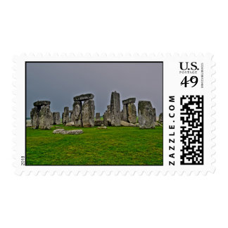 Stonehenge Ancient Historic Site of Power Postage Stamps