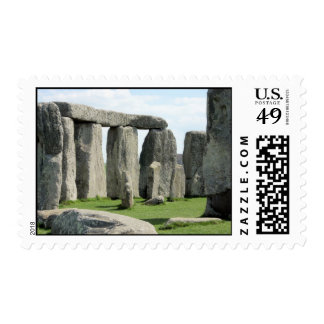 Stonehenge, ancient place of mystery in England Postage