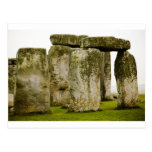 Stonehenge antiguo, postal BRITÁNICA