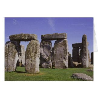 Stonehenge archaeological site, London, England Card