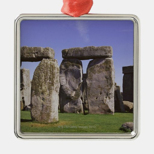 Stonehenge archaeological site, London, England Christmas Tree Ornaments