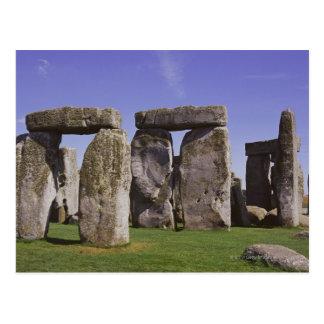 Stonehenge archaeological site, London, England Postcard
