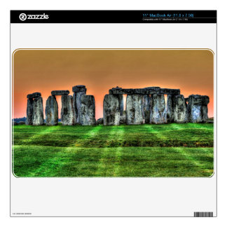 Stonehenge at Sunset - Ancient Site of Power UK Skins For The MacBook
