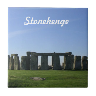 Stonehenge Azulejo Cuadrado Pequeño
