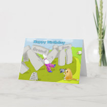 stonehenge birthday grandson card