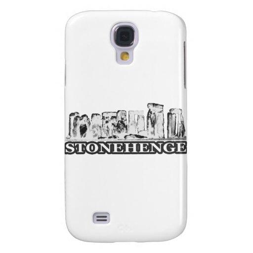 Stonehenge Black White The MUSEUM Zazzle Gifts Galaxy S4 Case