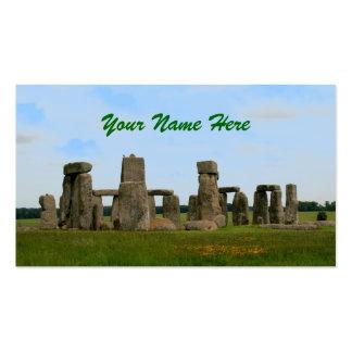 Stonehenge Business Cards